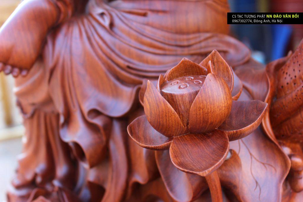 tượng quan âm ngự liên hoa, tuong quan am ngu lien hoa, tuong quan am tu tai, tượng quan âm tự