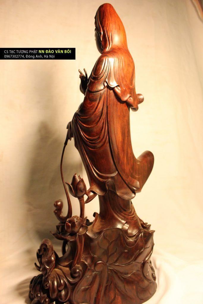tượng thủy nguyệt quán âm, tuong thuy nguyet quan am
