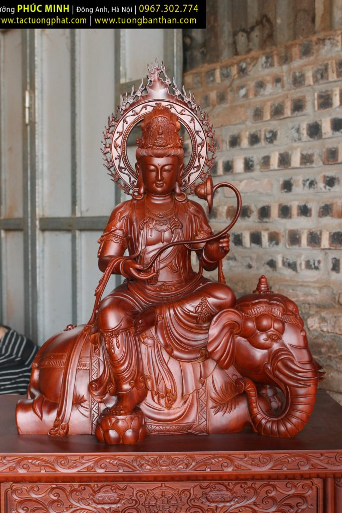 Tôn tượng Phổ Hiền Bồ tát