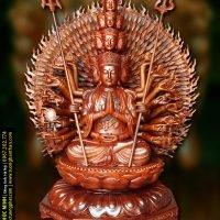 Tôn tượng Thiên thủ Thiên nhãn Thập nhất Diện Quán Thế Âm Bồ tát 42 thủ ấn Mật tông cao từ 82cm - 3.6m, phiên bản duy nhất Việt Nam.